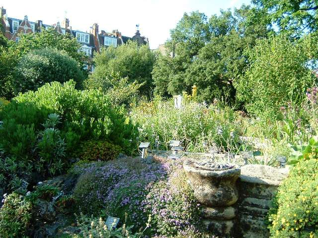 Chelsea Physic Garden contains the oldest man-made rock garden in Europe. It has Grade II* status.